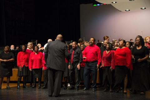Evanston Symphony Holiday Gospel Choir